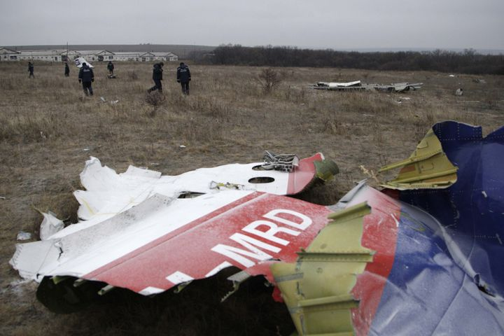 All 298 people aboard MH17 were killed when the plane was shot down.