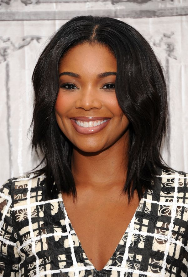 Collarbone length hairstyles are having a moment in hollywood 2 gabrielle union urmus Choice Image