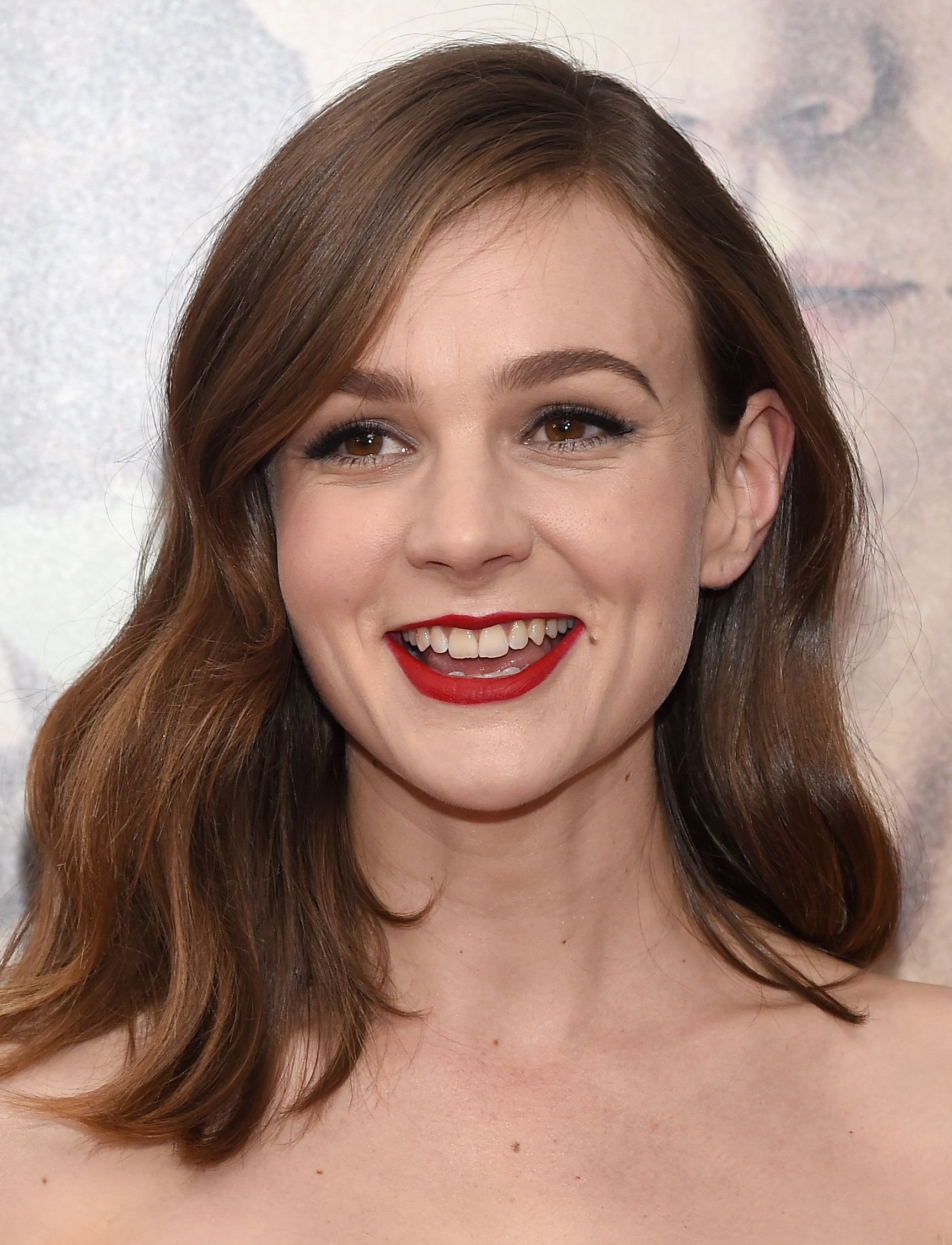 Actress Carey Mulligan attends the 'Suffragette' New York Premiere at The Paris Theatre on October 12, 2015 in New York City.