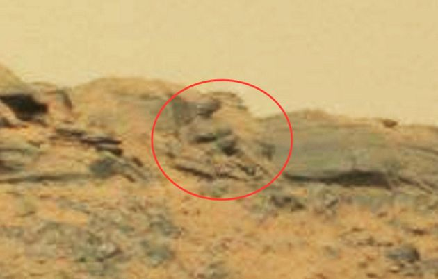 Buddha Statue Or Rock Formation Spotted On Mars The