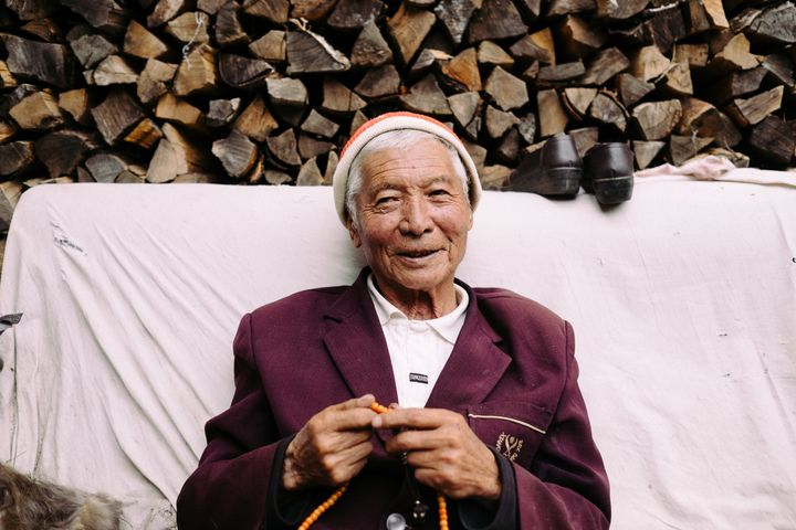 "Rinchen Gyalsto helped to ""struggle"" landlords in Wenping after the Communist Party takeover.<i></i>"