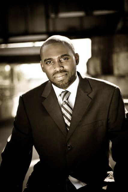 Pastor Kymone Hinds, the leader of a Memphis, Tennessee church.