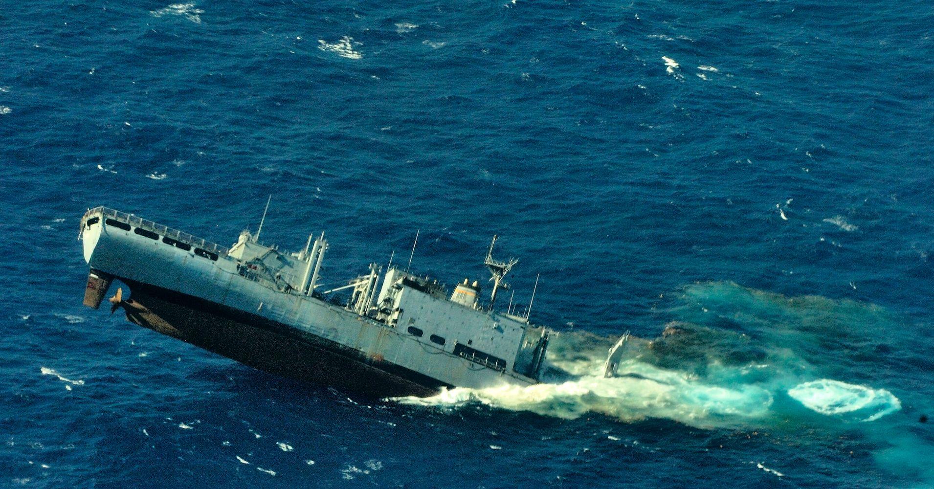 The Hidden History In Hawaii S Massive Underwater Ship