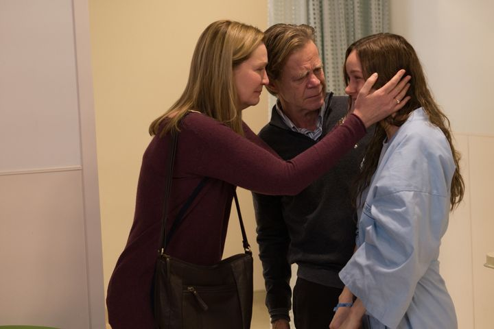 "Joan Allen, William H. Macy and Brie Larson star in a scene from ""Room."""