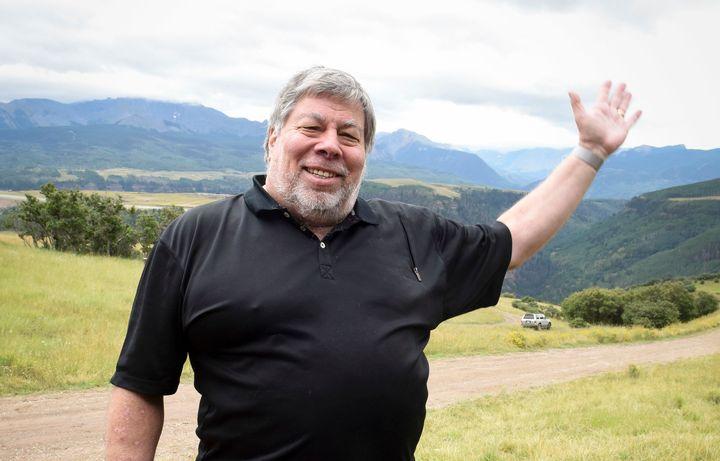 Wozniak at the 2015 Telluride Film Festival in Colorado.