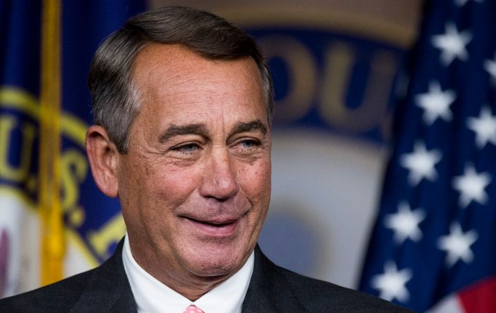 John Boehner looks better when people contemplate the future without him.