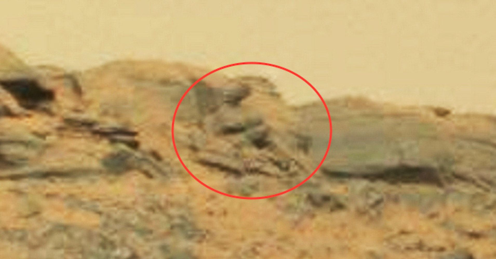 Buddha Statue (Or Rock Formation) Spotted On Mars | HuffPost
