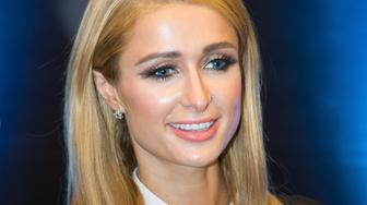 BEIJING, CHINA - OCTOBER 15:  (CHINA OUT) Paris Hilton attends a press conference to promote her brand 'Paris Hilton' on October 15, 2015 in Beijing, China.  (Photo by ChinaFotoPress/ChinaFotoPress via Getty Images)