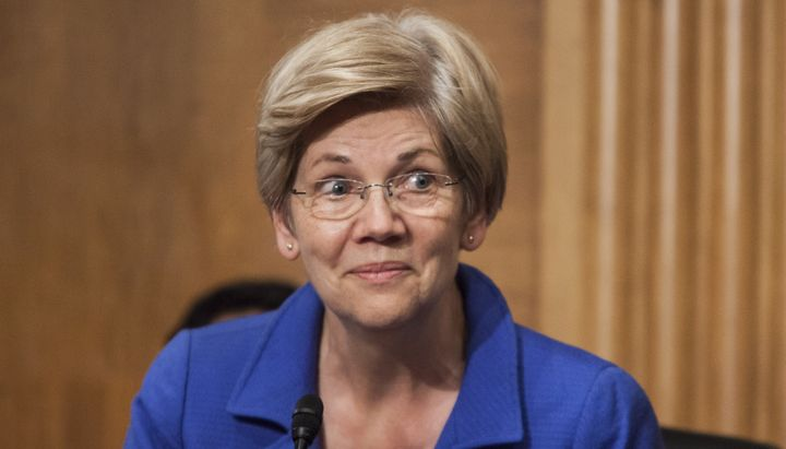 Sen. Elizabeth Warren's voice is being heard even when she's not the one speaking.