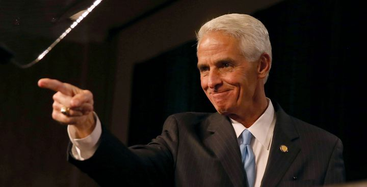 Take that, anyone who doubted the indefatigable Charlie Crist.