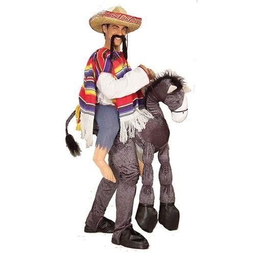 Adding the word <i>amigo</i> to the title doesn't make this costume any more Latino friendly. <br><br> Latinos' roots come fr