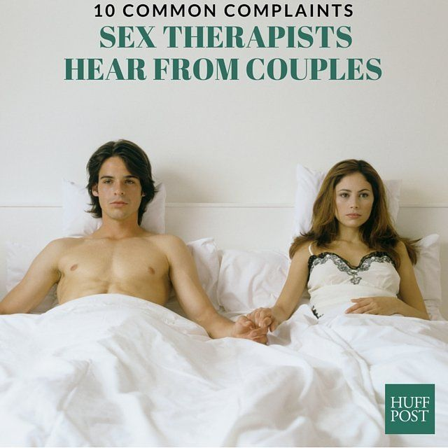 Sexual intimacy issues in marriage