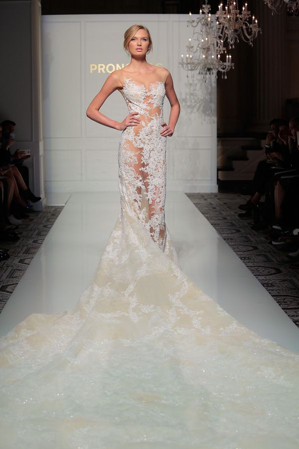 The 15 Most NSFW Wedding Dresses From Bridal Fashion Week | HuffPost