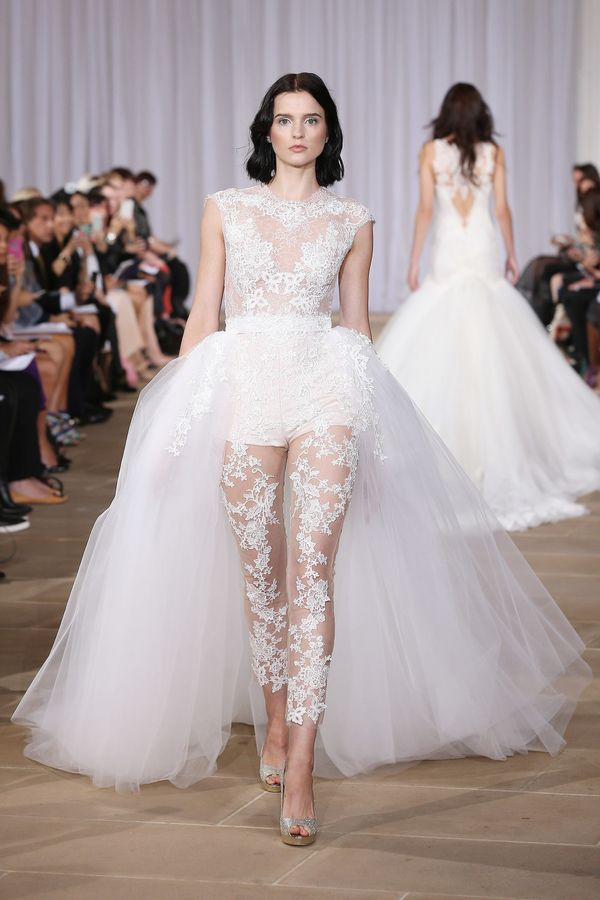 The 15 Most NSFW Wedding Dresses From Bridal Fashion Week