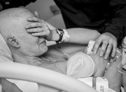 Mom Battling Cancer Breastfeeds Newborn In Emotional Photos