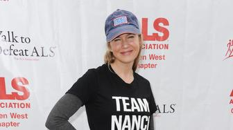 Actress Renee Zellweger attends the 2015 ALS Walk in Exposition Park on Sunday Oct. 18, 2015, in Los Angeles. (Photo by Richard Shotwell/Invision/AP)
