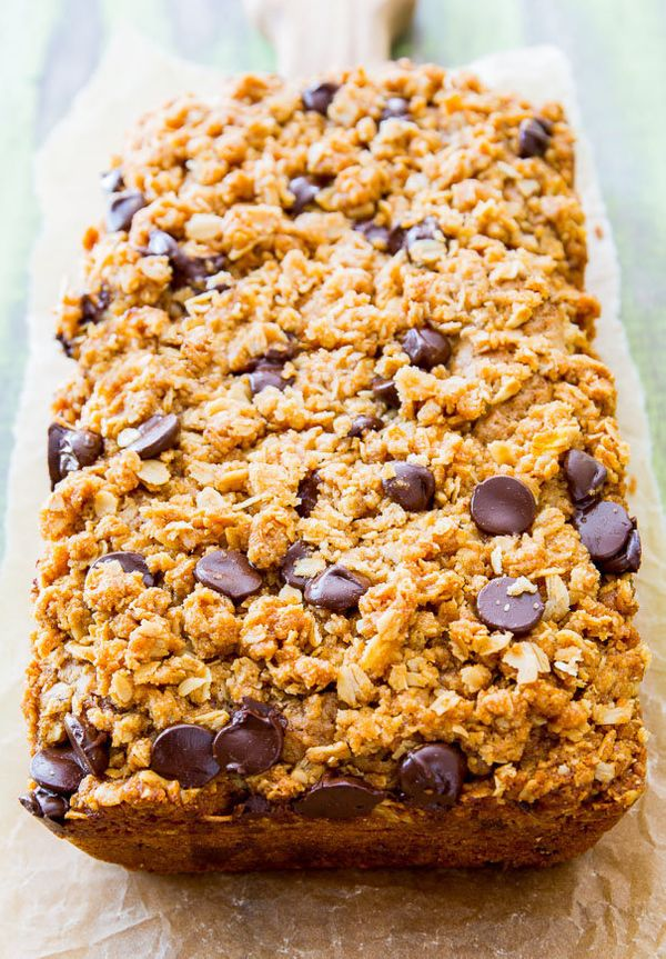 "<strong>Get the <a href=""http://sallysbakingaddiction.com/2014/06/18/award-winning-zucchini-bread/"">Zucchini Chocolate Chip B"