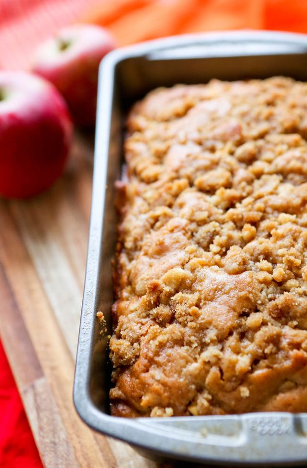 "<strong>Get the <a href=""http://www.pipandebby.com/pip-ebby/2014/9/11/apple-pie-bread.html"">Apple Pie Bread recipe</a> f"