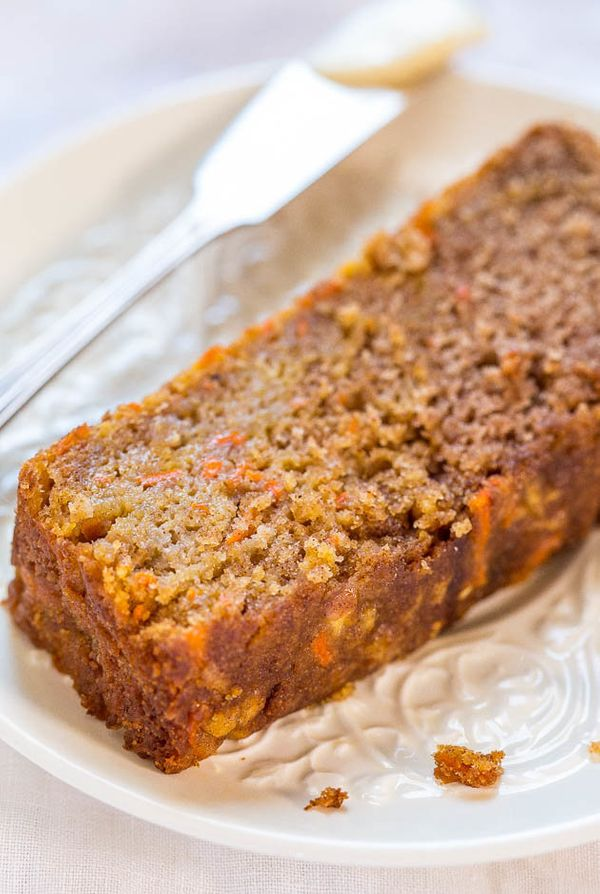 "<strong>Get the <a href=""http://www.averiecooks.com/2014/11/carrot-apple-bread.html"">Carrot Apple Bread recipe</a> from"