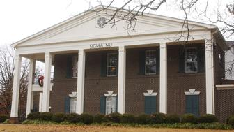 OXFORD, MS - DECEMBER 13:  The Sigma Nu Fraternity House is shown December 13, 2002 in Oxford, Mississippi. Former CNN President Tom Johnson, then a Sigma Nu member at the University of Georgia, announced December 13, 2002 that U.S. Senate Minority Leader Trent Lott (R-MS) helped lead a successful attempt to prevent his college fraternity from admitting blacks to any of its chapters approximately four decades ago. At the time, Lott was president of the intra-fraternity council at the University of Mississippi. Lott stepped down from his position as Senate Majority Leader December 20, 2002 over his recent racially insensitive comments. (Photo by Bruce Newman/Getty Images)