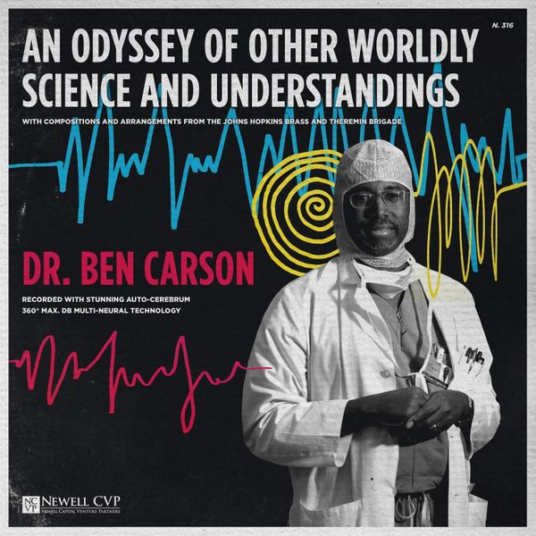 """""""Ben Carson as a '50s-era wacky science recording designed itself, particularly when I found that image of him. (Image not al"""