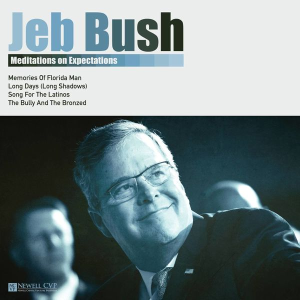 """""""One of my favorites is Jeb Bush as the contemplative folk singer. He's singing his truth from his heart, but he still has th"""