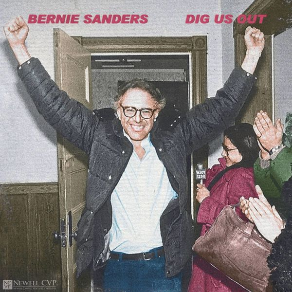 """""""As much as Bernie Sanders eschews people labeling him, he has been quite comfortable being the indie guy with idealist goals"""