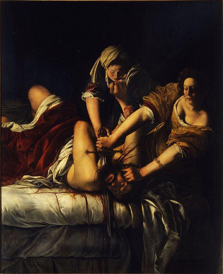 "<a href=""https://en.wikipedia.org/wiki/File:Artemisia_Gentileschi_-_Giuditta_decapita_Oloferne_-_Google_Art_Project.jpg"">Arte"