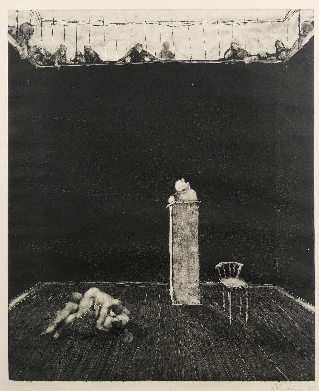 """""""The Pit,"""" William Joseph Kentridge"""