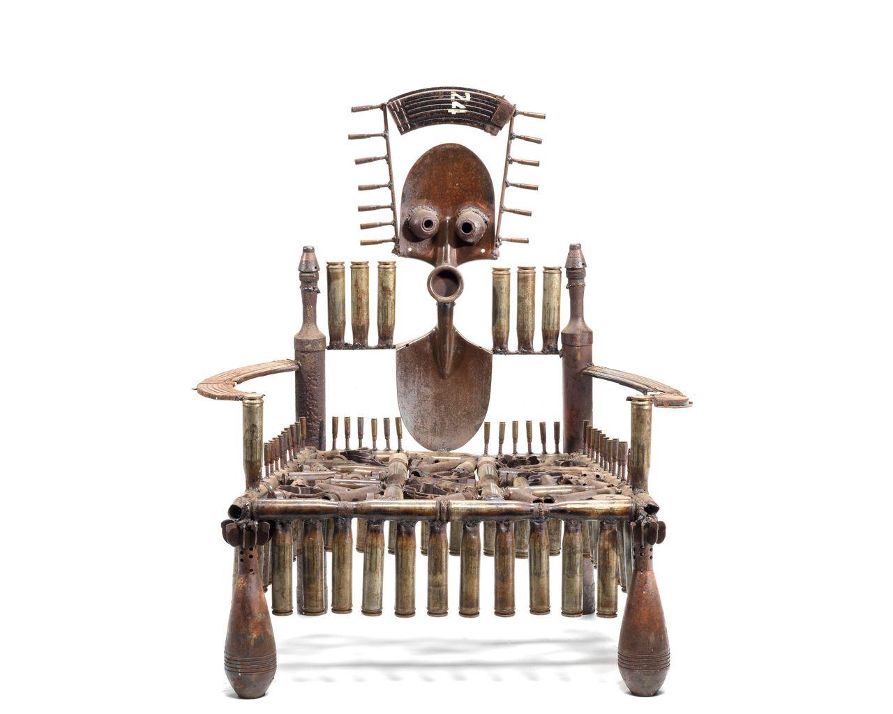 """Weapon Throne,"" Gonçalo Mabunda"
