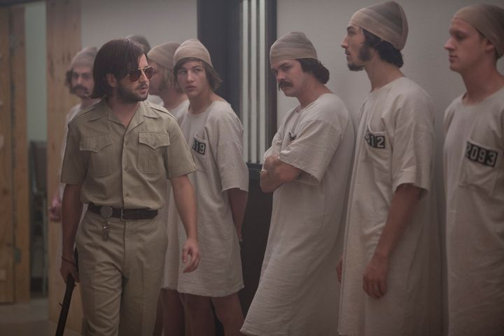 """Michael Angarano stars in a scene from """"The Stanford Prison Experiment."""""""