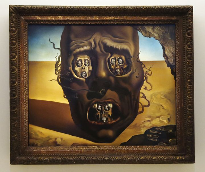 "Salvador Dali, ""The Face of War,"" 1940"