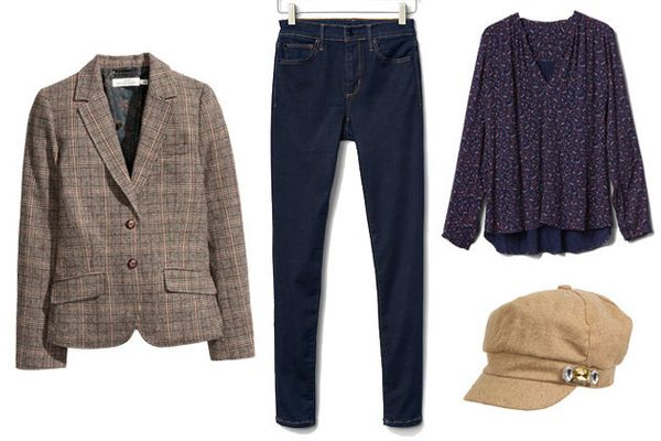 """Blazer, <a href=""""http://www.hm.com/us/product/84637?article=84637-A&amp;cm_vc=SEARCH"""">H&amp;M</a>; Jeans, <a href=""""http://www"""