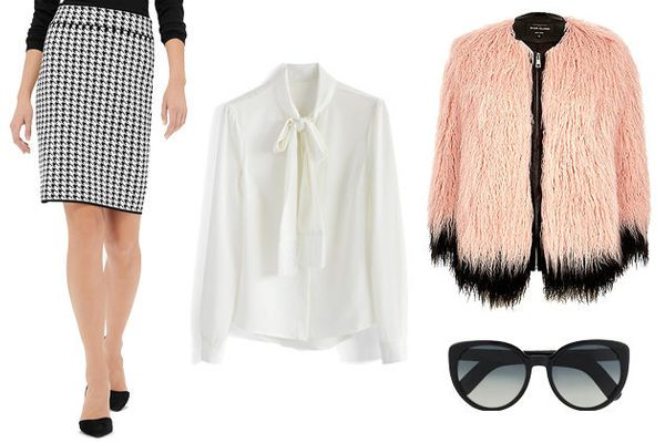 """Skirt, <a href=""""http://www.thelimited.com/product/knit-houndstooth-pencil-skirt/73249141750009.html?utm_source=Google&amp;utm"""
