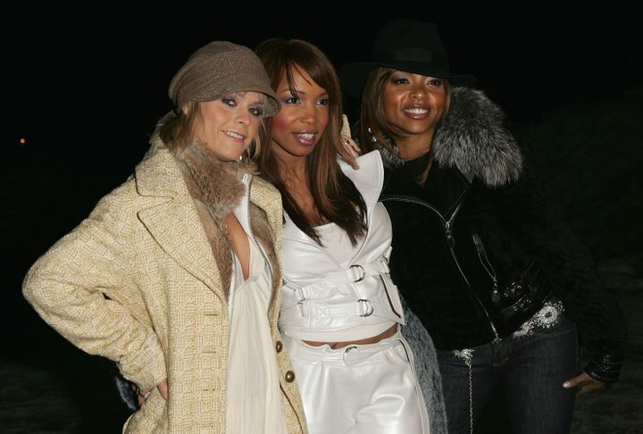 "Taryn Manning, Taraji P. Henson and Elise Neal attend the premiere of ""Hustle & Flow."""