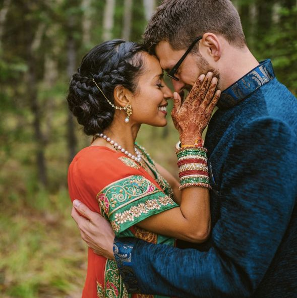 """Spent the weekend documenting these two as they said 'I do.' It was my first Hindu wedding and I loved everything about it!"""
