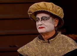 Bill Murray Looked Like The Black Swan On 'Jimmy Kimmel Live!'