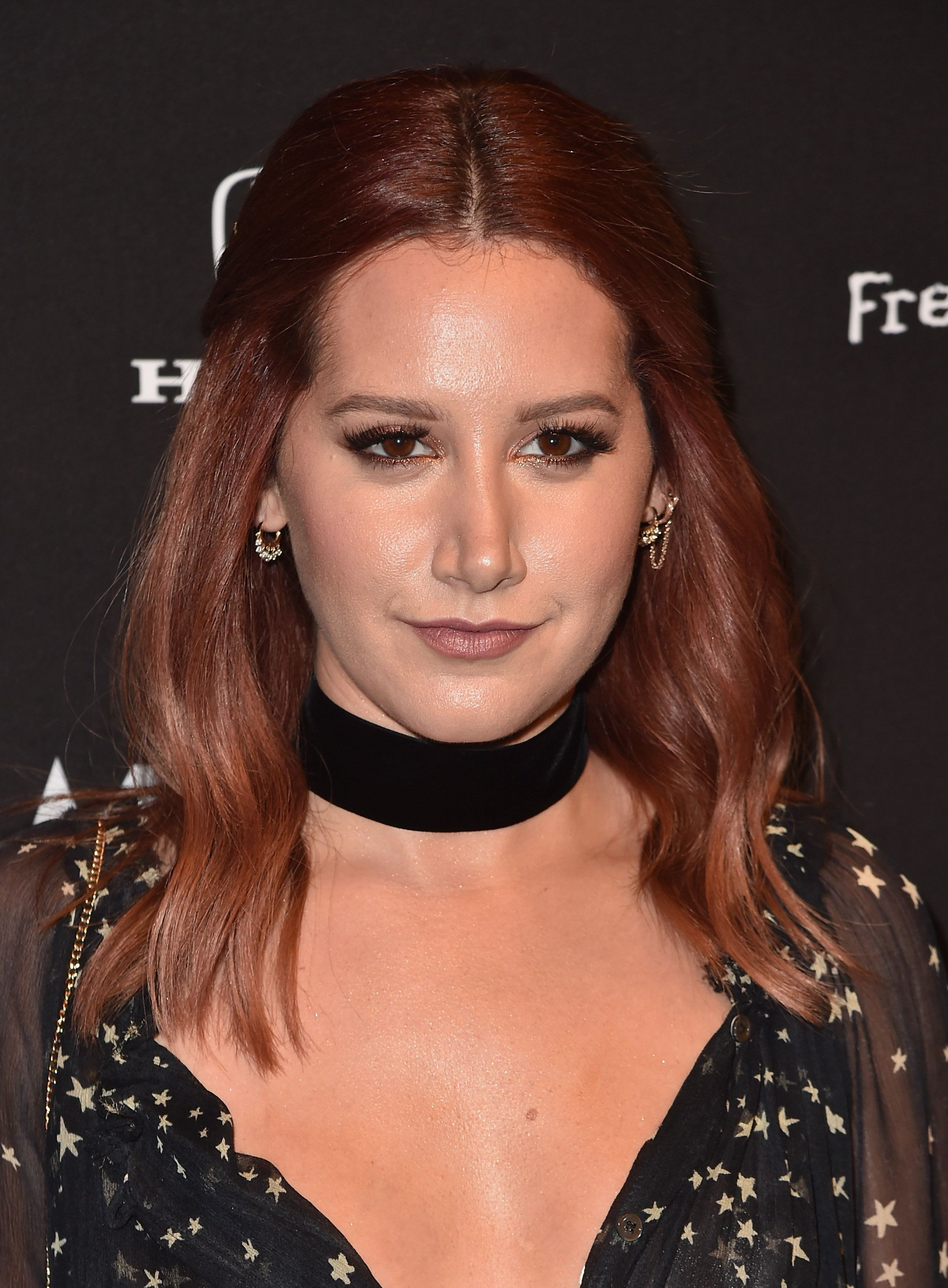 LOS ANGELES, CA - OCTOBER 19:  Actress Ashley Tisdale attends the Guitar Hero Live Launch Party at YouTube Space LA on October 19, 2015 in Los Angeles, California.  (Photo by Alberto E. Rodriguez/Getty Images)