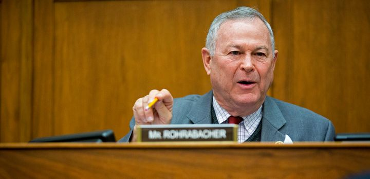 Rep. Dana Rohrabacher (R-Calif.) is one of the lawmakers leading the fight against the DOJ crackdown on legal medical marijuana providers.