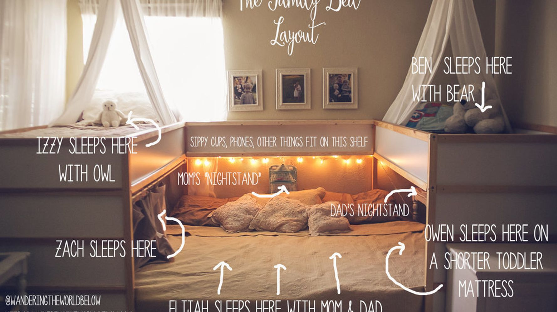 This Family S Ikea Bed Hack Is Getting A Lot Of Attention Huffpost Life