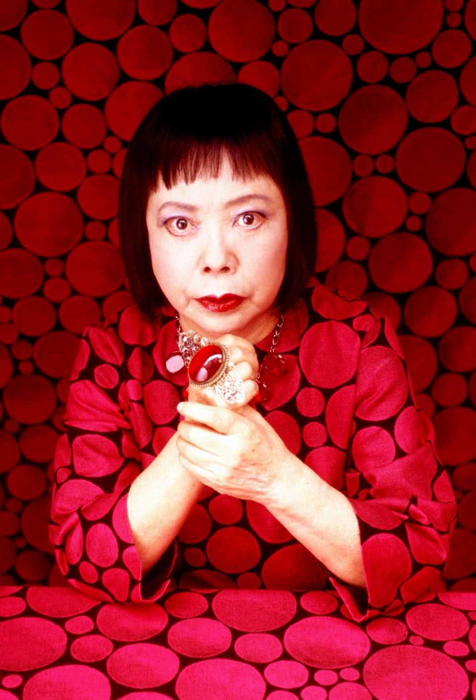 Selfie Obliteration How Yayoi Kusama Invented The Photo
