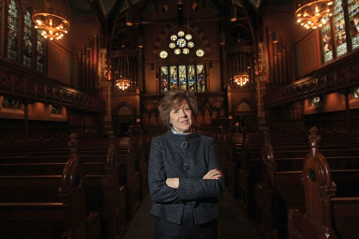 The Rev. Nancy Taylor of Boston's Old South Church is one of more than 30 clergy taking part in the Conversation Sabbath, a s