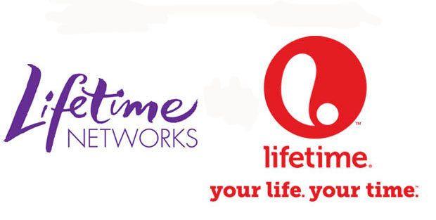 Lifetime's most recent logo transition.