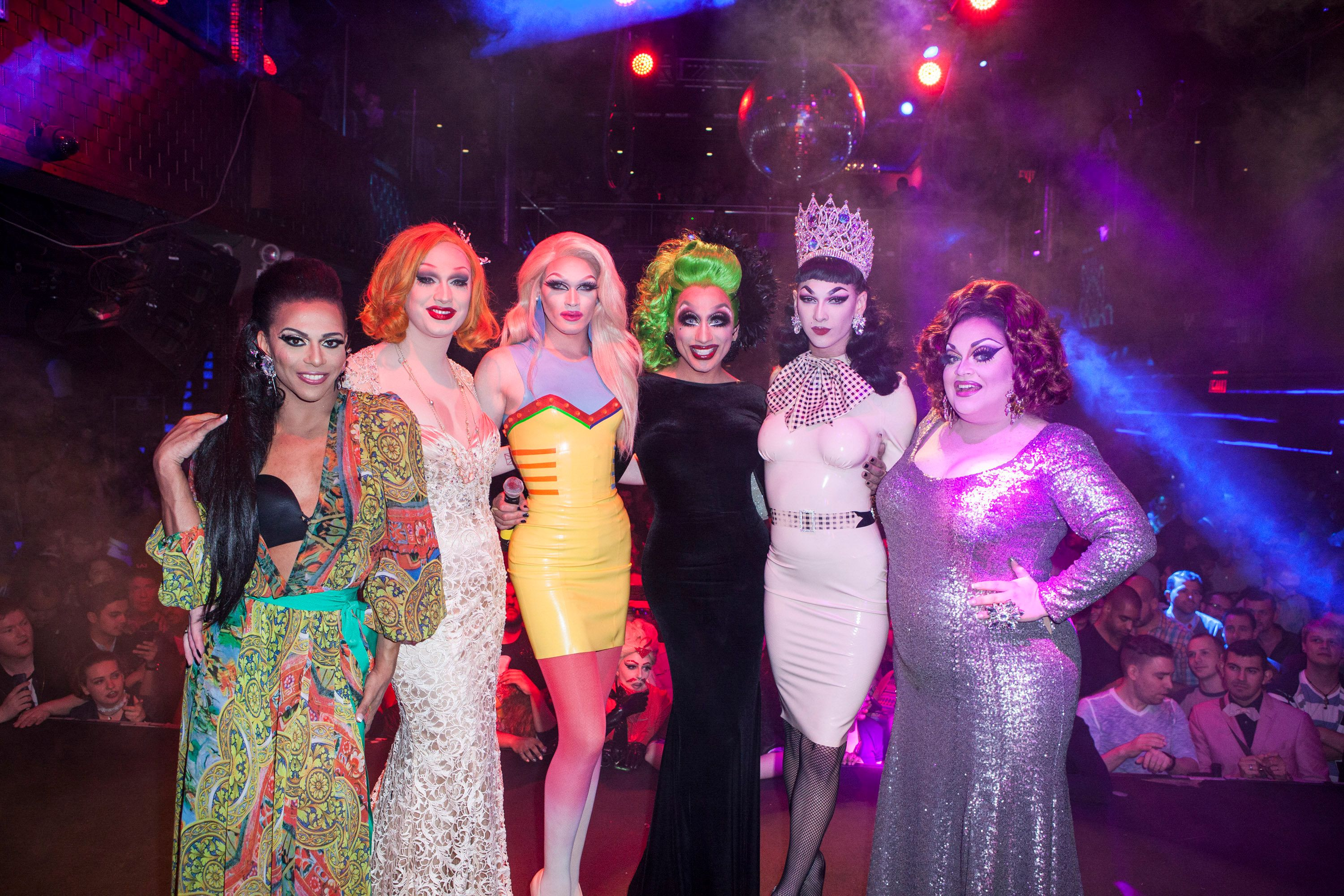NEW YORK, NY - JUNE 01:  Cast of 'RuPaul's Drag Race' attends Season 7 Finale And Coronation at Stage48 on June 1, 2015 in New York City.  (Photo by Santiago Felipe/FilmMagic)