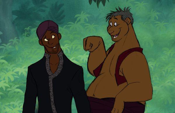 Bagheera and Baloo