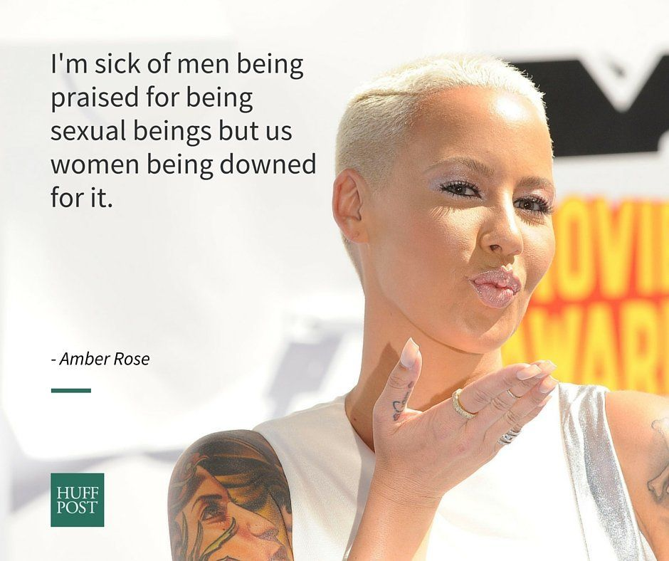 10 Times Amber Rose And Feminism Were Completely As One