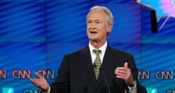 Lincoln Chafee is dropping out of the Democratic race.