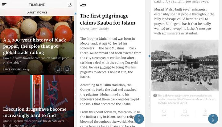 Timeline Will Show You The History Behind The Headlines | HuffPost