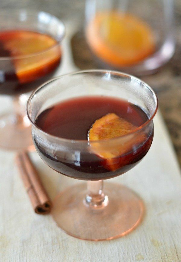 """<strong>Get the <a href=""""http://www.mountainmamacooks.com/2014/10/slow-cooker-mulled-wine/"""" target=""""_blank"""">Cranberry-Pomegra"""