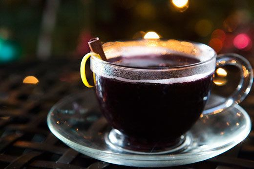 """<strong>Get the <a href=""""http://www.simplyrecipes.com/recipes/honey_mulled_wine/"""">Honey Mulled Wine recipe</a> from Simply Re"""